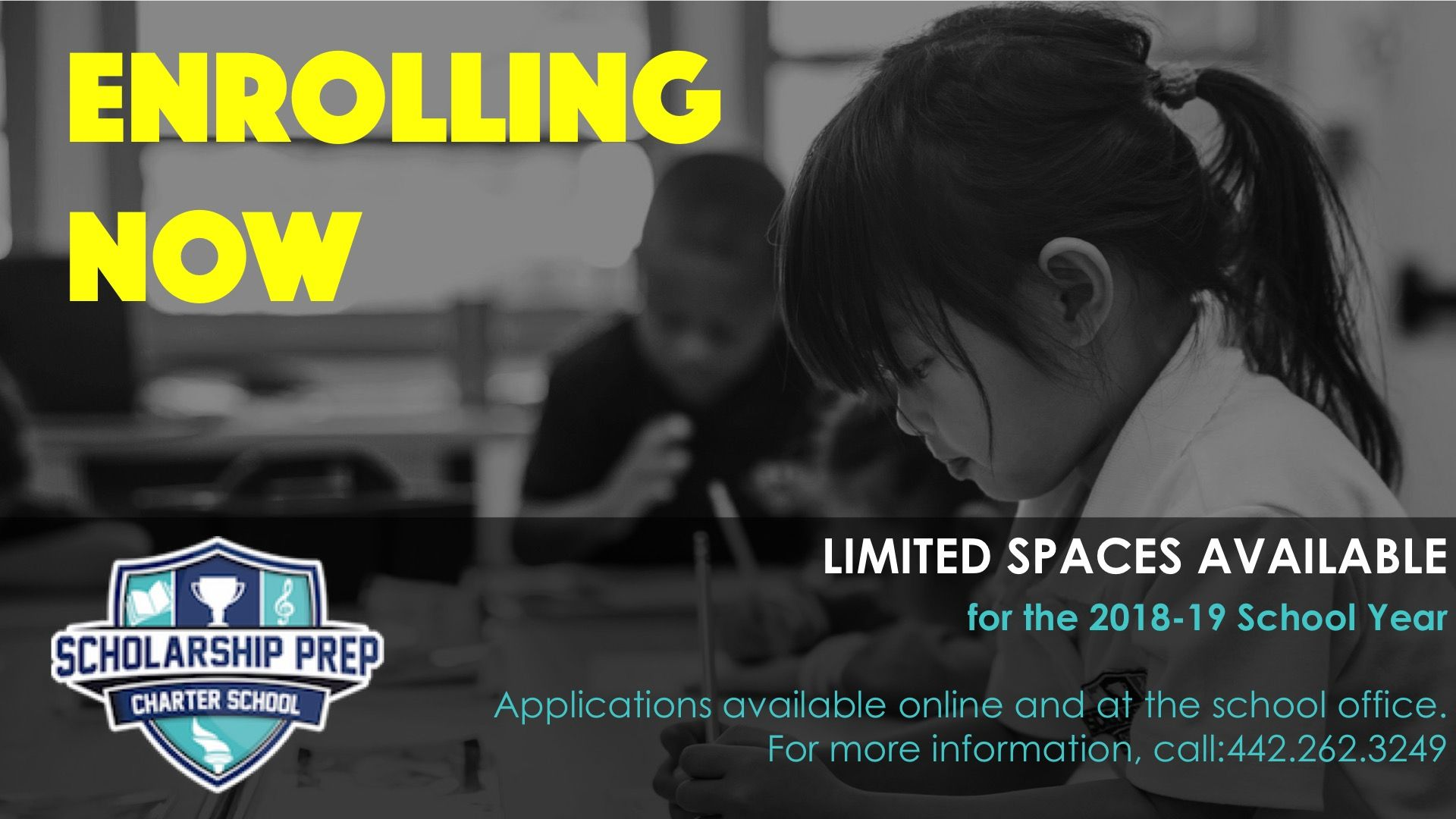 Enrolling Now for the 2018-19 School Year